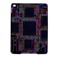 Cad Technology Circuit Board Layout Pattern iPad Air 2 Hardshell Cases
