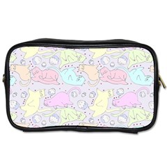 Cat Animal Pet Pattern Toiletries Bags
