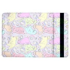 Cat Animal Pet Pattern iPad Air Flip