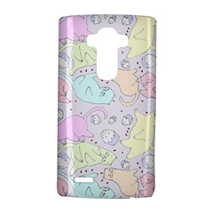 Cat Animal Pet Pattern LG G4 Hardshell Case