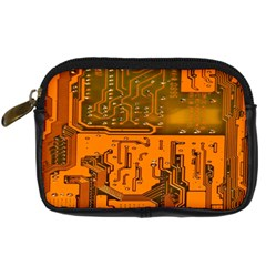 Circuit Board Pattern Digital Camera Cases