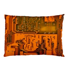 Circuit Board Pattern Pillow Case (Two Sides)
