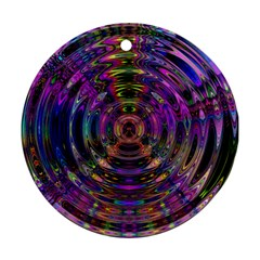 Color In The Round Ornament (Round)