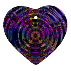 Color In The Round Ornament (Heart)