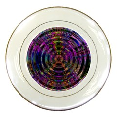 Color In The Round Porcelain Plates