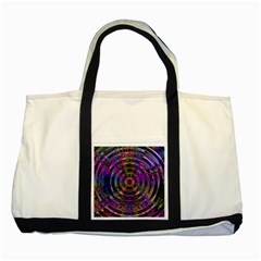 Color In The Round Two Tone Tote Bag