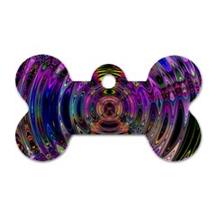 Color In The Round Dog Tag Bone (Two Sides)