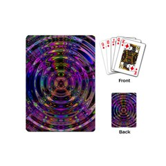 Color In The Round Playing Cards (Mini)