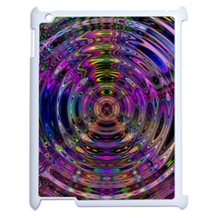 Color In The Round Apple iPad 2 Case (White)