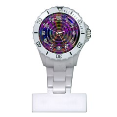 Color In The Round Plastic Nurses Watch