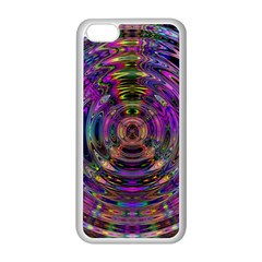 Color In The Round Apple iPhone 5C Seamless Case (White)