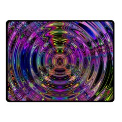 Color In The Round Double Sided Fleece Blanket (Small)