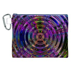 Color In The Round Canvas Cosmetic Bag (XXL)
