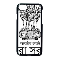 Seal Of Indian State Of Tripura Apple Iphone 7 Seamless Case (black)