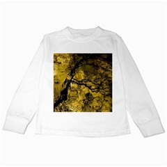 Colorful The Beautiful Of Traditional Art Indonesian Batik Pattern Kids Long Sleeve T-Shirts