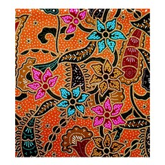 Colorful The Beautiful Of Art Indonesian Batik Pattern Shower Curtain 66  x 72  (Large)