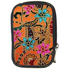 Colorful The Beautiful Of Art Indonesian Batik Pattern Compact Camera Cases