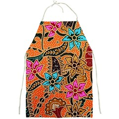 Colorful The Beautiful Of Art Indonesian Batik Pattern Full Print Aprons