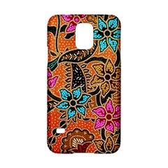 Colorful The Beautiful Of Art Indonesian Batik Pattern Samsung Galaxy S5 Hardshell Case