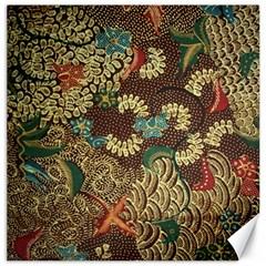 Colorful The Beautiful Of Art Indonesian Batik Pattern Canvas 20  x 20