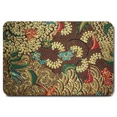 Colorful The Beautiful Of Art Indonesian Batik Pattern Large Doormat