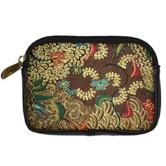 Colorful The Beautiful Of Art Indonesian Batik Pattern Digital Camera Cases