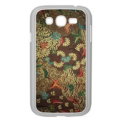 Colorful The Beautiful Of Art Indonesian Batik Pattern Samsung Galaxy Grand DUOS I9082 Case (White)