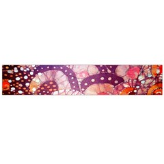 Colorful Art Traditional Batik Pattern Flano Scarf (Large)