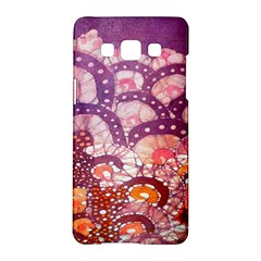 Colorful Art Traditional Batik Pattern Samsung Galaxy A5 Hardshell Case