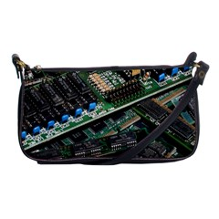 Computer Ram Tech Shoulder Clutch Bags