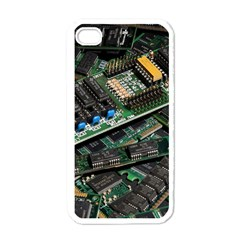 Computer Ram Tech Apple iPhone 4 Case (White)
