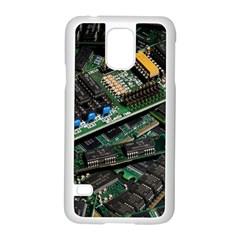 Computer Ram Tech Samsung Galaxy S5 Case (White)