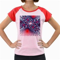 Creative Abstract Women s Cap Sleeve T-Shirt