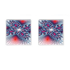 Creative Abstract Cufflinks (Square)