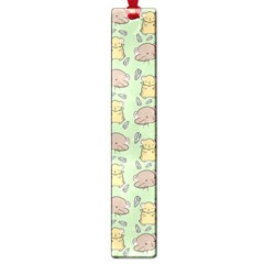 Cute Hamster Pattern Large Book Marks