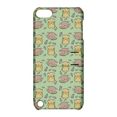 Cute Hamster Pattern Apple iPod Touch 5 Hardshell Case with Stand