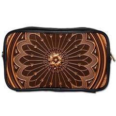 Decorative Antique Gold Toiletries Bags