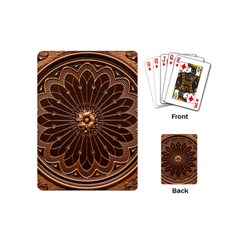 Decorative Antique Gold Playing Cards (Mini)