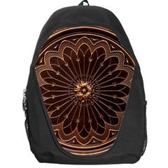 Decorative Antique Gold Backpack Bag