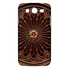 Decorative Antique Gold Samsung Galaxy Mega 5.8 I9152 Hardshell Case