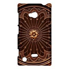 Decorative Antique Gold Nokia Lumia 720