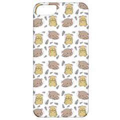 Cute Hamster Pattern Apple iPhone 5 Classic Hardshell Case