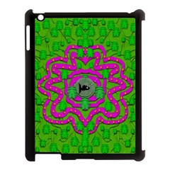 Vegetarian Art With Pasta And Fish Apple Ipad 3/4 Case (black)
