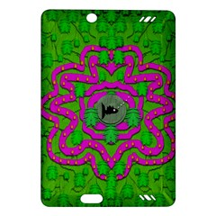 Vegetarian Art With Pasta And Fish Amazon Kindle Fire Hd (2013) Hardshell Case