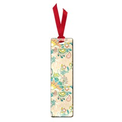 Hand Drawn Batik Floral Pattern Small Book Marks
