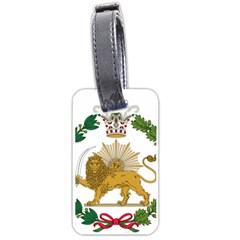 Imperial Coat Of Arms Of Persia (iran), 1907 1925 Luggage Tags (two Sides)