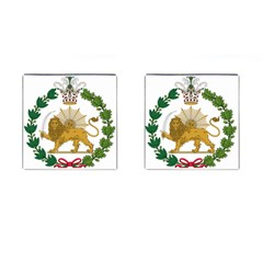 Imperial Coat Of Arms Of Persia (iran), 1907 1925 Cufflinks (square)