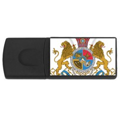 Sovereign Coat Of Arms Of Iran (order Of Pahlavi), 1932 1979 Usb Flash Drive Rectangular (4 Gb)