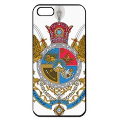 Sovereign Coat Of Arms Of Iran (order Of Pahlavi), 1932 1979 Apple Iphone 5 Seamless Case (black)