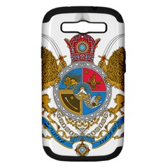Sovereign Coat Of Arms Of Iran (order Of Pahlavi), 1932 1979 Samsung Galaxy S Iii Hardshell Case (pc+silicone)